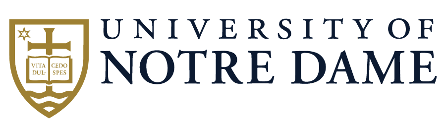 Logo of the University of Notre Dame